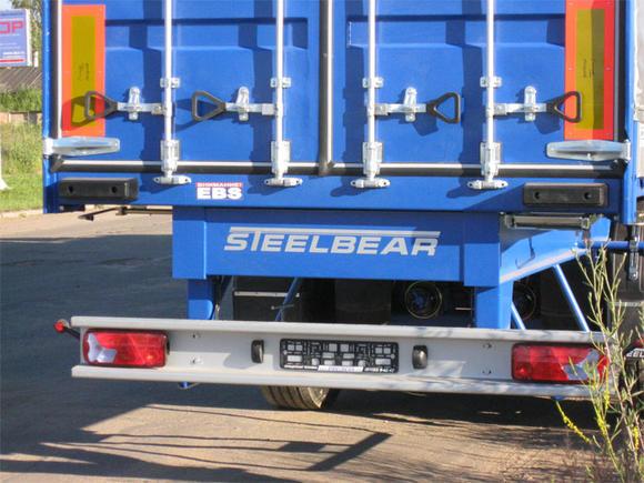STEELBEAR расширил модельный ряд тентовых полуприцепов